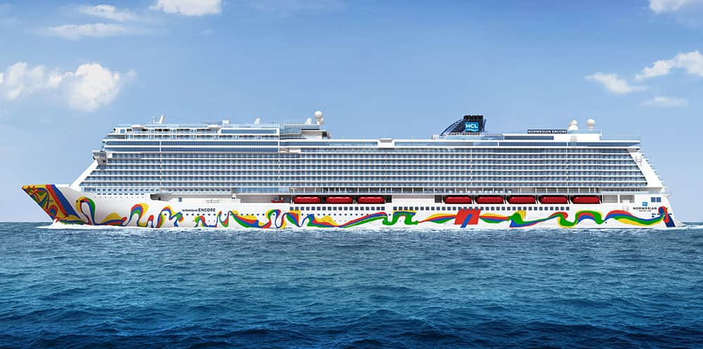 Norwegian Encore Hull Artist Announced