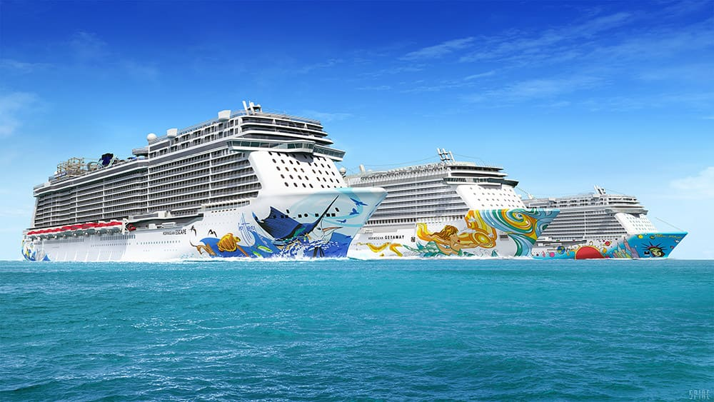 Barcos de Norwegian Cruise Line