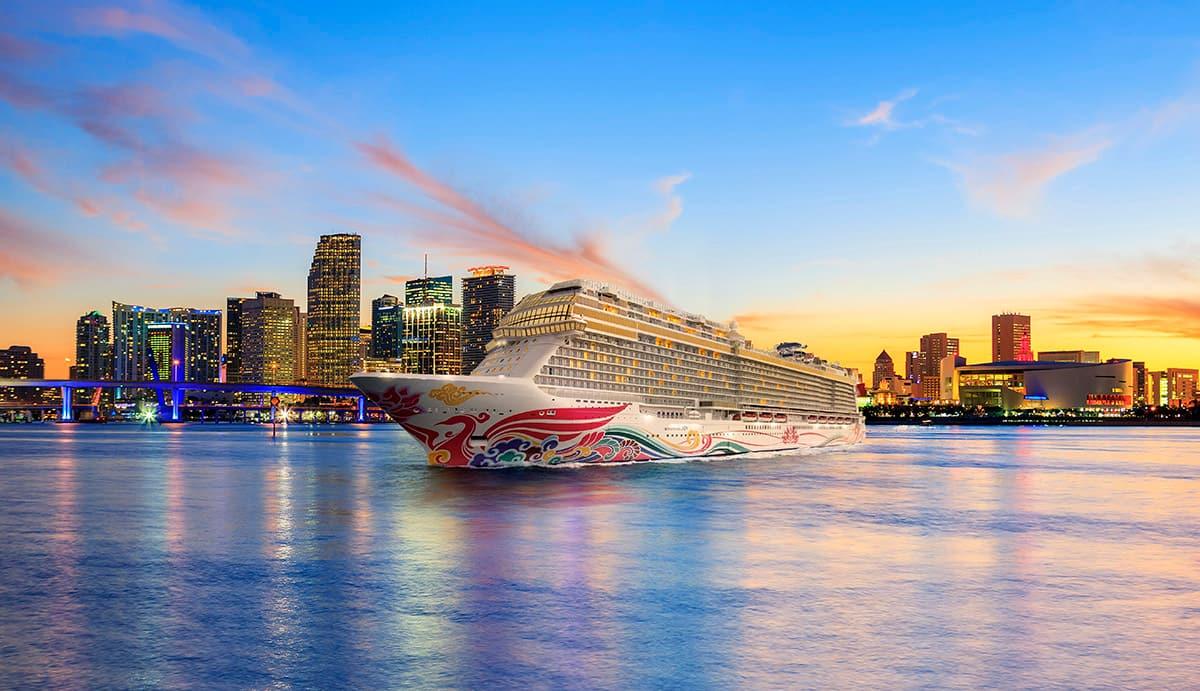 Anuncio de los itinerarios2020-2021 deNorwegian Cruise Line