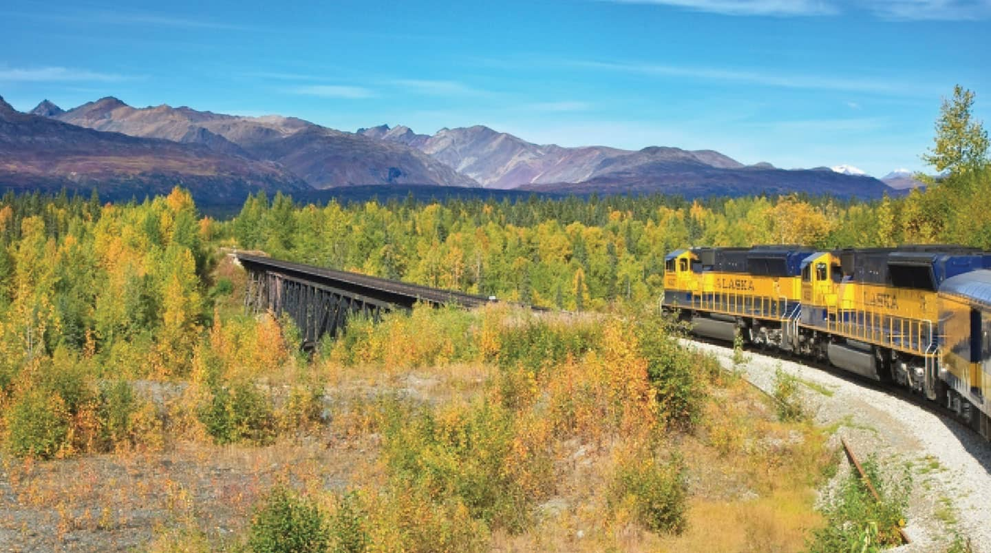 Denali by Rail Explorer - Southbound Cruisetour