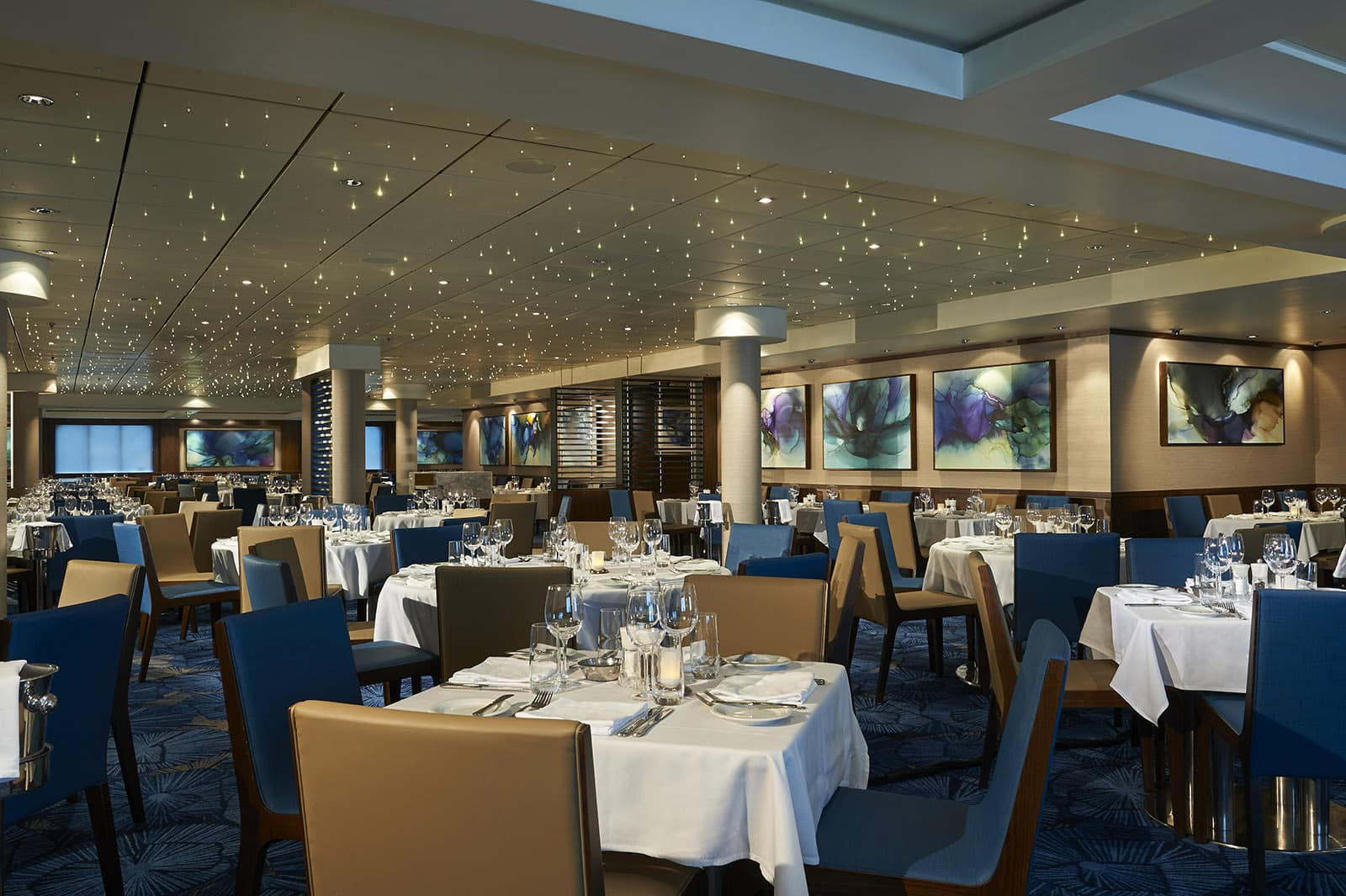 Restaurantes del Norwegian Jewel