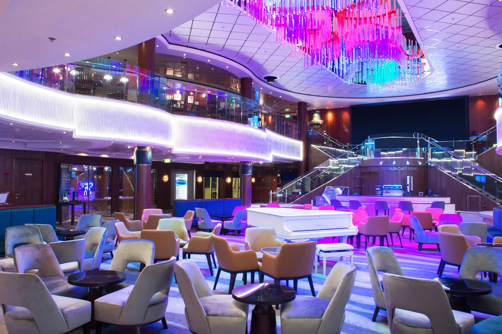 Norwegian Jewel Atrium