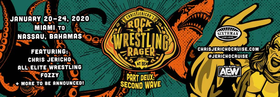 Chris Jericho's Rock 'N' Wrestling Rager at Sea: Parte Dos