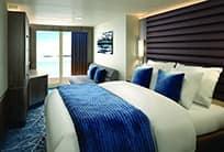 Alojamiento en el crucero:suites Club con balcón