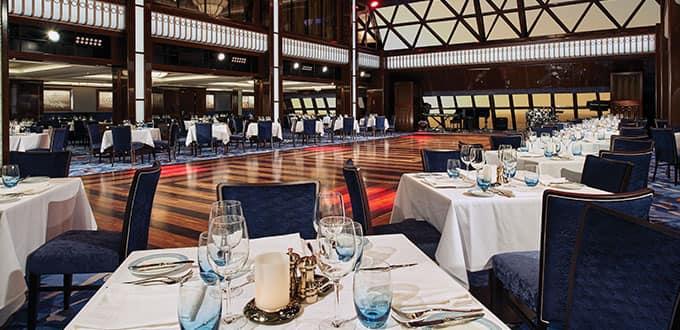 Restaurantes a bordo