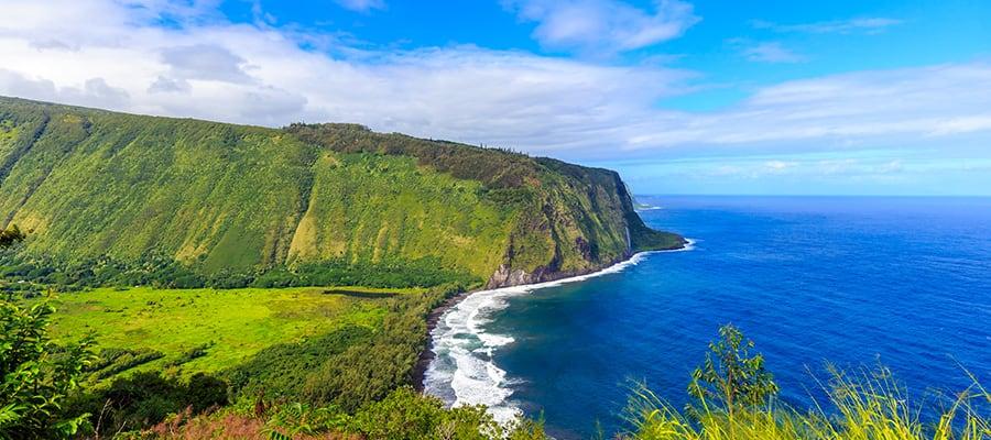 Valle de Waipio, Isla Grande, Hawái.