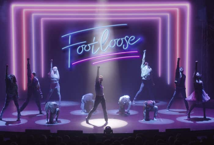 Musical Footloose como parte del entretenimiento del Norwegian Joy