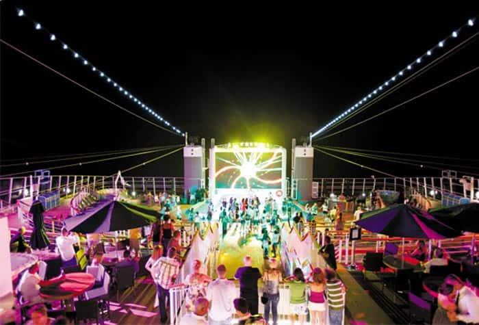 Fiestas en cubierta