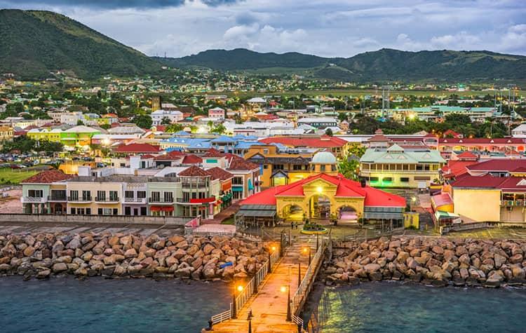Navega a St. Kitts en el Caribe oriental con Norwegian