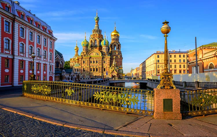 Crucero a San Petersburgo