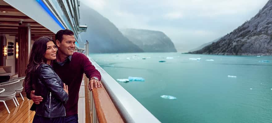 Asómbrate en Alaska:Bahía de los Glaciares yPasaje Interior desde Seattle, 7 días
