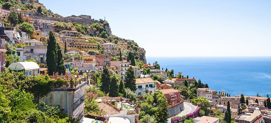 Excursión en tierra de crucero por Taormina, Italia