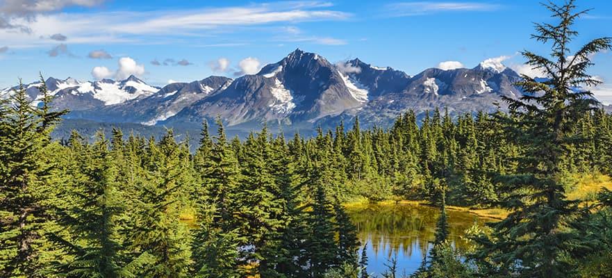 Expreso Denali y Fairbanks, 11 días - Tour en crucero hacia el norte