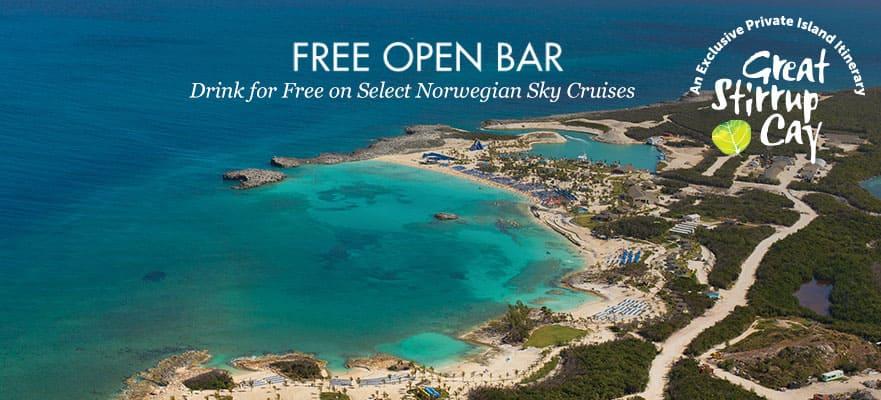 Bahamas desde Miami, 3 días: bar abierto gratis