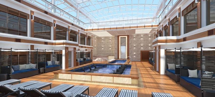 Acceso exclusivo a The Haven Courtyard y su piscina.