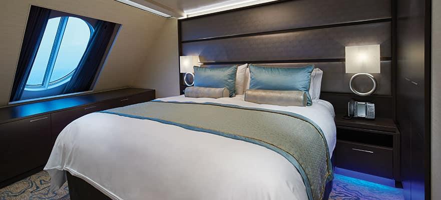 Ponte cómodo en el dormitorio principal