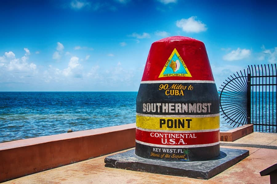 See the Southernmost Point in Key West on a Caribbean Cruise with Norwegian