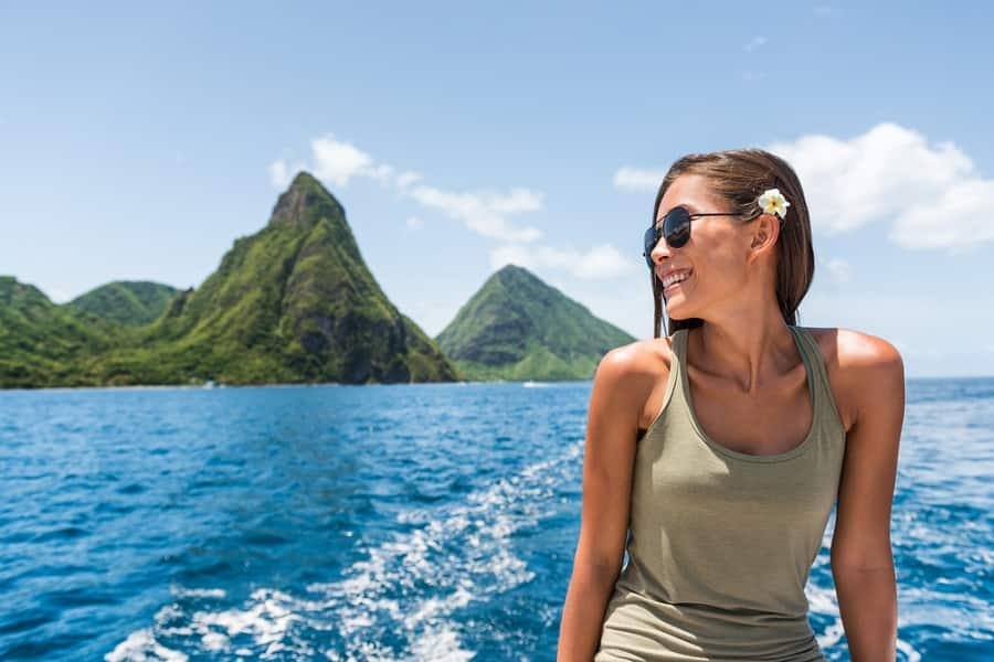 See the Iconic Pitons in St. Lucia on a Caribbean Cruise with Norwegian