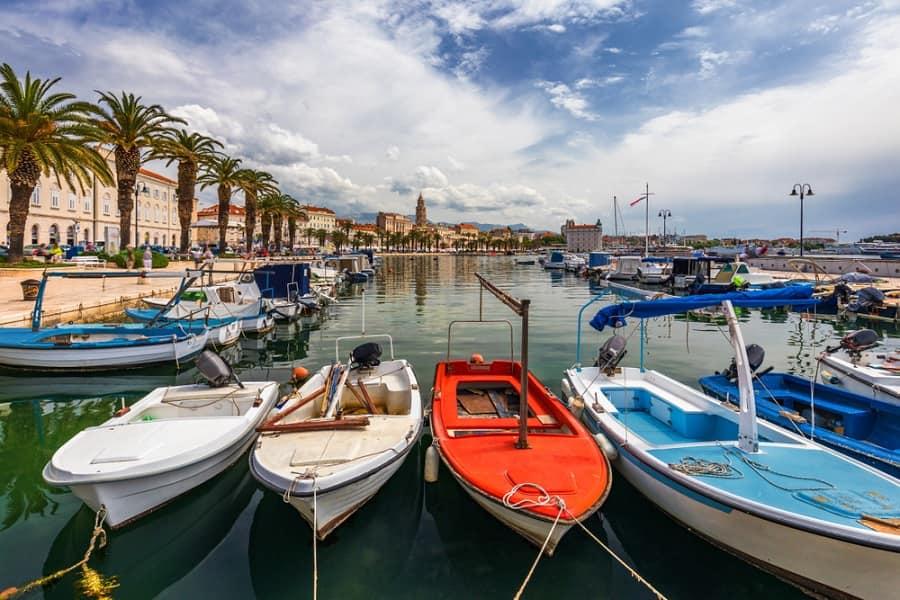 Norwegian Cruise Line visits Split, Croatia