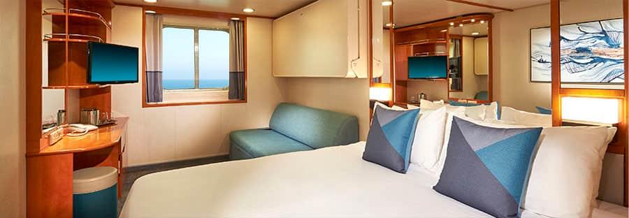 Camarote con vista al mar delNorwegianSun - Reacondicionadoen2018