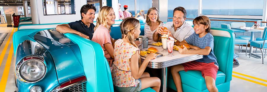 American Diner en elNorwegian Encore