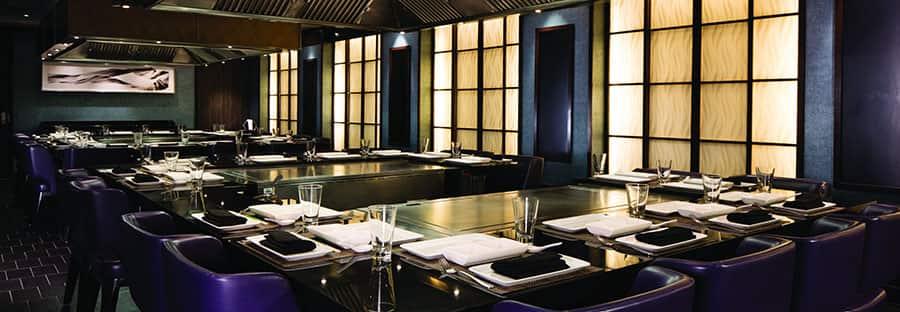 Restaurante japonés Hibachi Teppanyaki