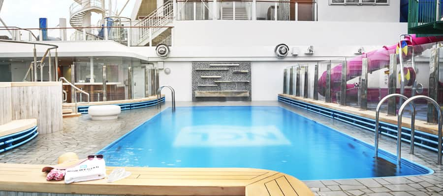 Piscina de Norwegian Cruise Line