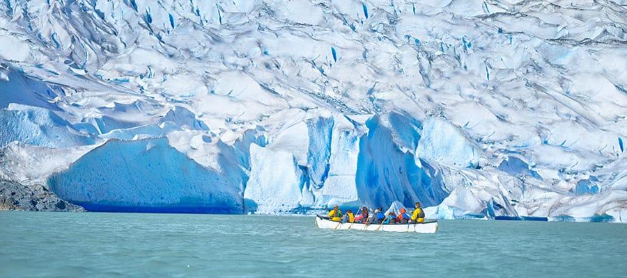Conoce de cerca el Glaciar Mendenhall