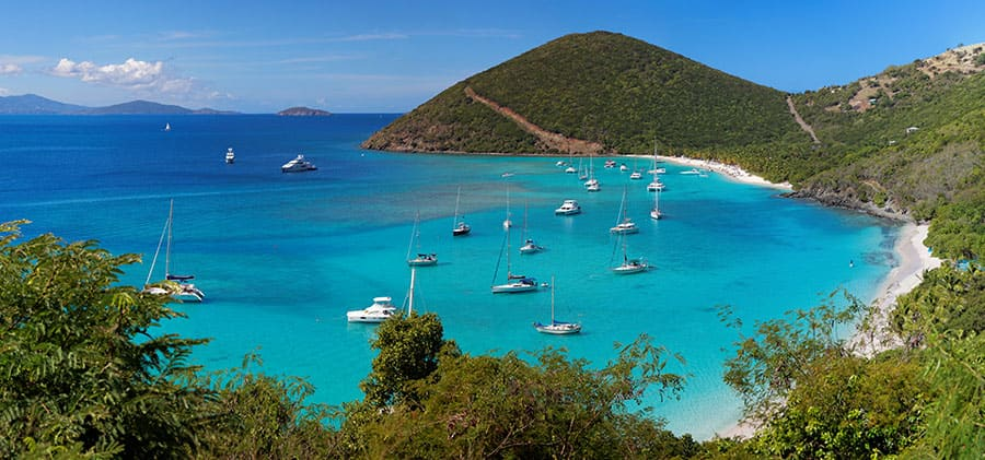 playas de las islas vírgenes