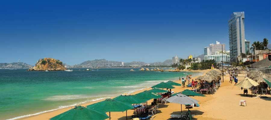 Conoce Acapulco en tu próximo crucero a la Riviera Mexicana