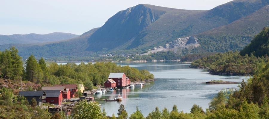 Paisajes pintorescos de Noruega en tu crucero por Europa