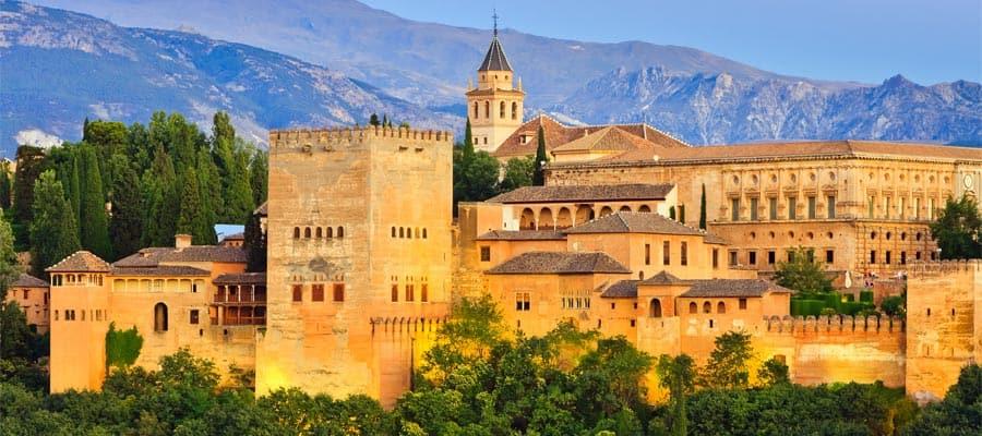 Palacio de La Alhambra en tu crucero por Europa