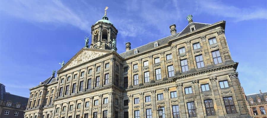 Visita el Palacio Real en tu crucero a Ámsterdam