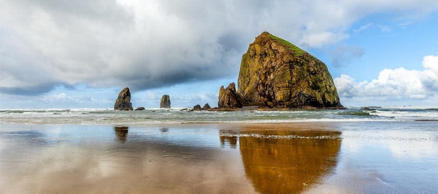 La costa de Oregon en tu crucero por la costa del Pacífico
