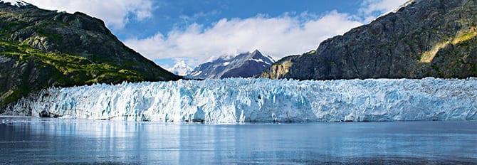 Glaciar Hubbard en Alaska