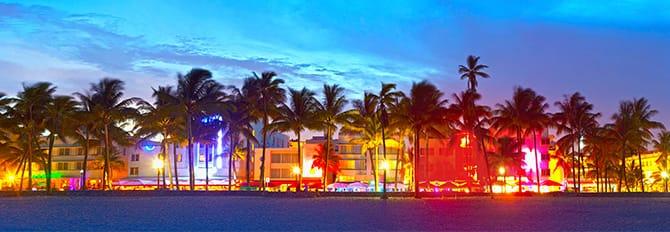 Vida nocturna en South Beach, Miami