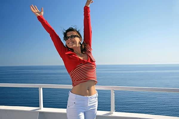 10 maneras de mantenerte activo en un crucero
