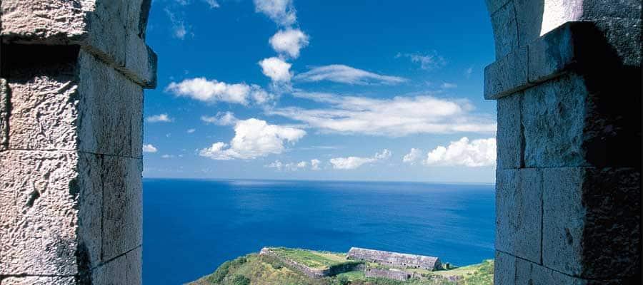 El arco de St. Kitts en tu crucero por el Caribe