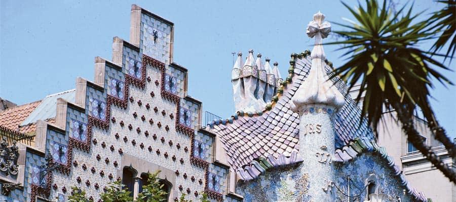 Arquitectura de Barcelona en tu crucero por Europa