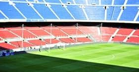 Barcelona panorámica y estadio del Barca - Huéspedes en tránsito