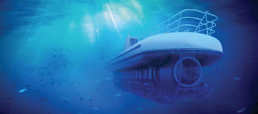 Submarino Atlantis en tu crucero por el Caribe