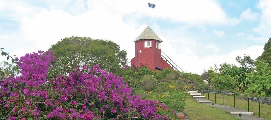 Descubre los paisajes de la isla en tu crucero a Bridgetown