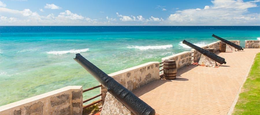 Conoce la historia de las islas en un crucero por el Caribe