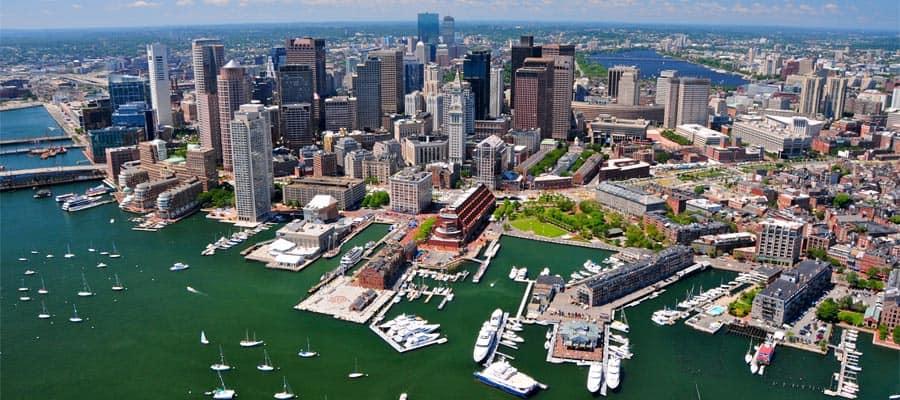 Visita Boston en tu crucero a Canadá y Nueva Inglaterra