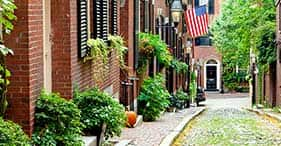 Boston histórico y Cambridge