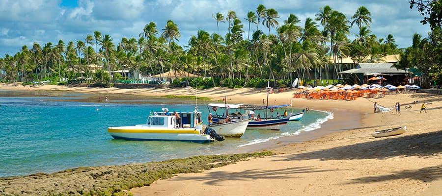 Praia do Forte en un crucero a Buzios