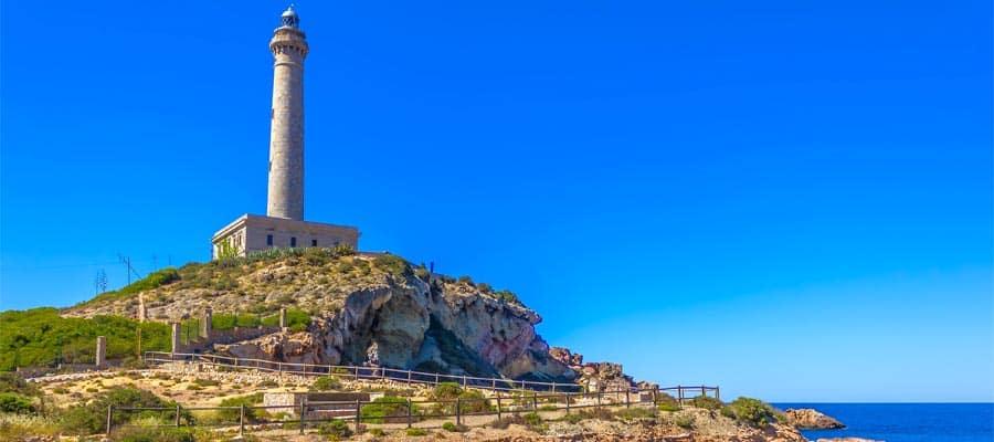 Faro Cabo de Palos en La Manga