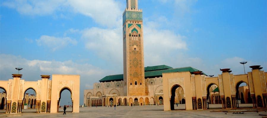Mezquita Hassan en tu crucero por Europa