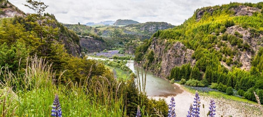 Valle del río Simpson