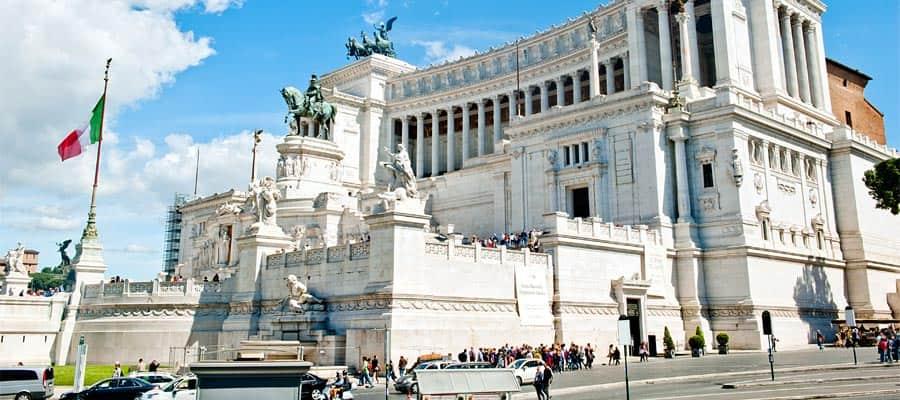Viaja en crucero por Europa y conoce la Piazza Venezia